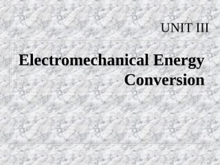 electromech.ppt