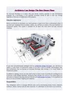 Architects Can Design The Best House Plans.pdf