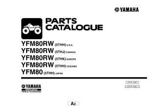yfm80 2007 quadr. Catálogo de peças.pdf
